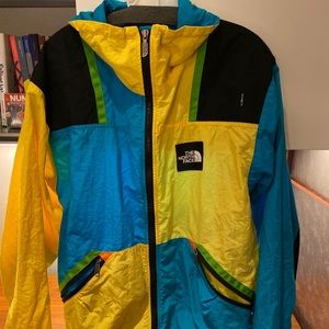 Vintage The North Face Colorblock Zip Jacket 80s